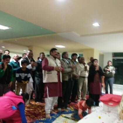 राम कथा का आयोजन