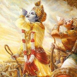 srimad bhagavad gita_Krishna_Arjuna