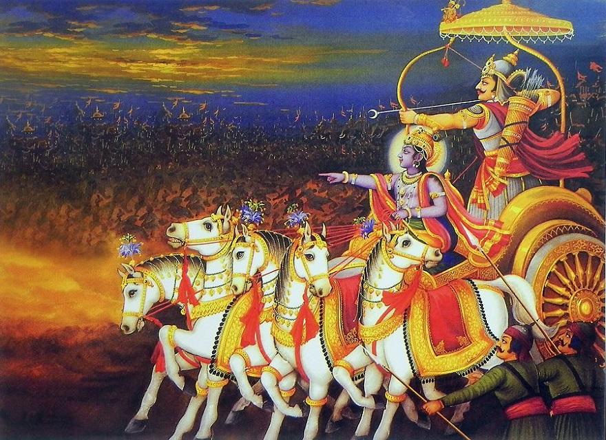 bhagavad gita Kurukshetra